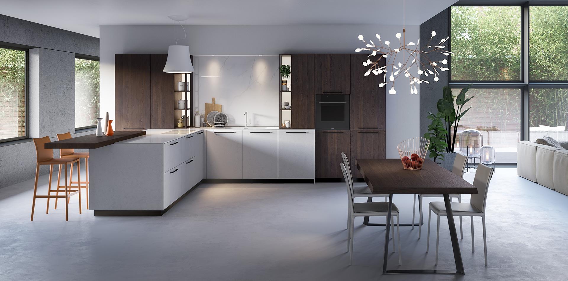 Küchen in g-form | Vettoretti